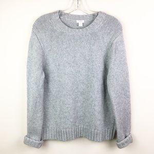 J. Crew XL Gray Crewneck Sweater